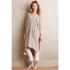 Knitted & Knotted Anthropologie Luna Lace Kaftan